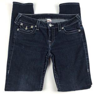 True Religion Dark Wash Skinny Jean